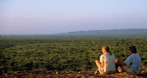 The views over Tsavo East in Kenya are unforgettable.
